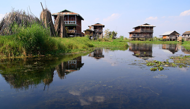 Nampan village Inle lake