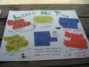 Responsible Travel - Leave No Trace