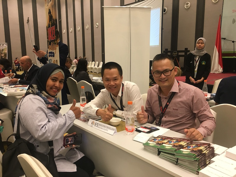 Active Travel Asia attended successfully in ASITA Jakarta Travel Mart on the 24 – 26 September 2019