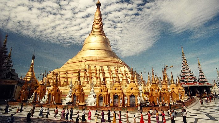 The Most Worthy Destination for a Myanmar Package Tour – Ancient Sule Pagoda