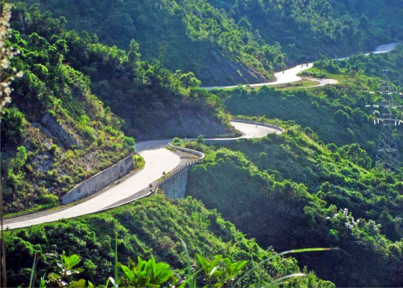 Travelling to Hai Van Pass in a Vietnam Adventure Tour