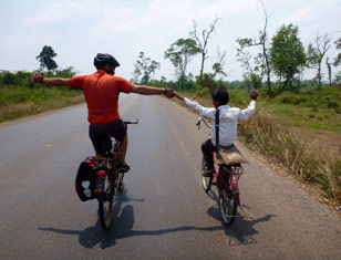 Biking Mekong Delta and Cambodia