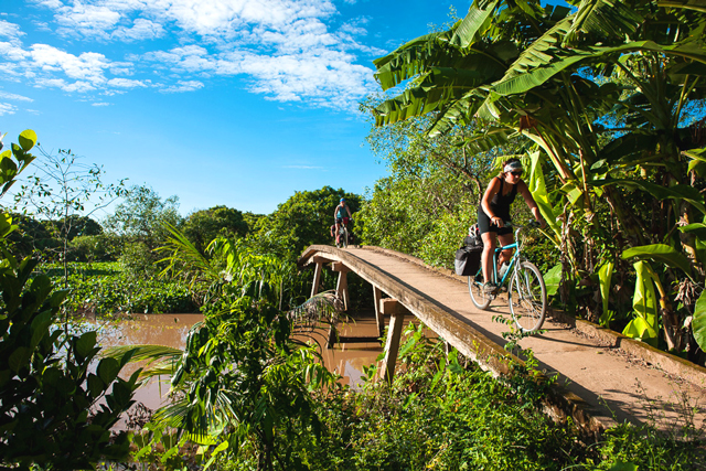 Biking Mekong 4 days