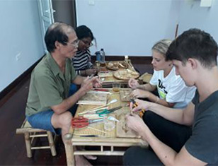 HANOI CITY TOUR ON WHEELS AND BAMBOO WORKSHOP
