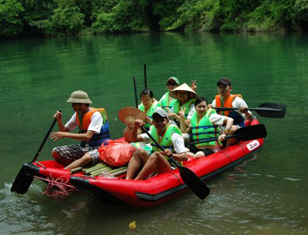 Awesome Kayaking & Trekking Ba Be Lake