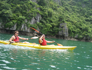 Kayaking Halong Bay - Lan Ha Bay, Vietnam