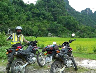 Taste of Ho Chi Minh Trail by motorbike