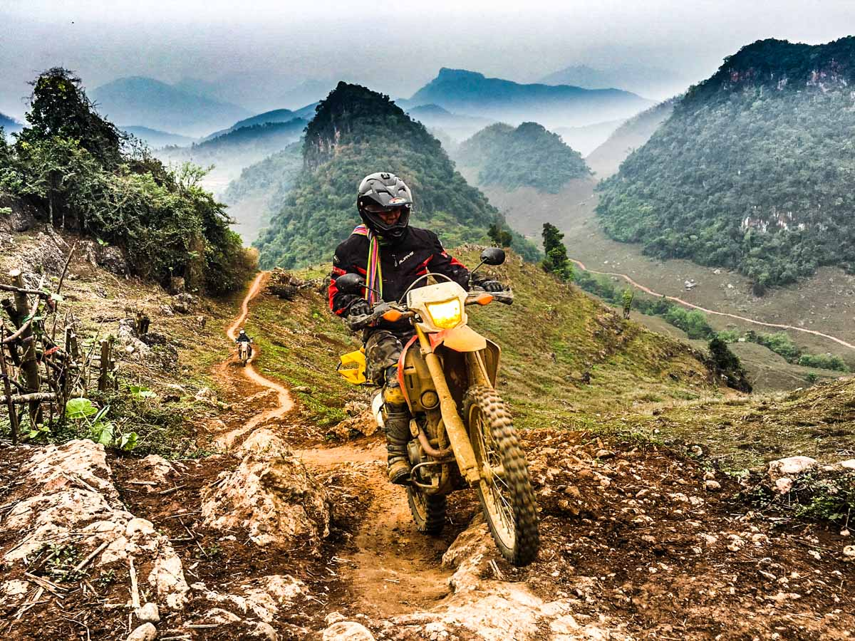 Motorcycling North Loop Vietnam